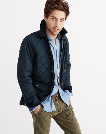ANF Diamond Quilted Jacket