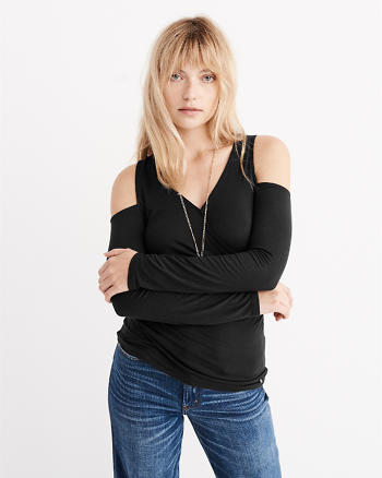 ANF Cold Shoulder Top