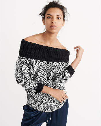 ANF Slouchy Stitch Marilyn Sweater
