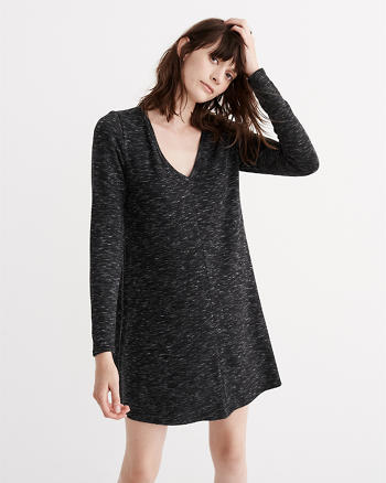 ANF V-Neck Shift Dress