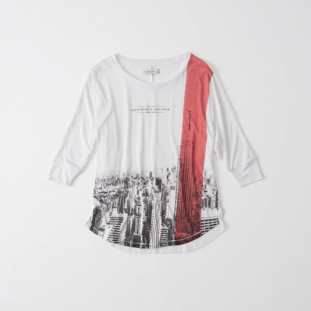 Relaxed Batwing Tee