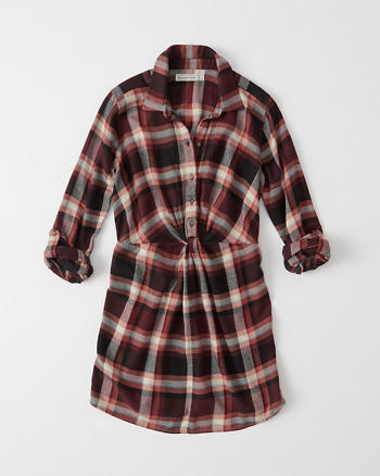 ANF Print Shirtdress