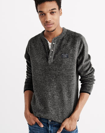 ANF Trail Fleece Henley