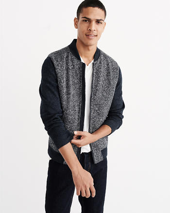 ANF Sweater Bomber Jacket