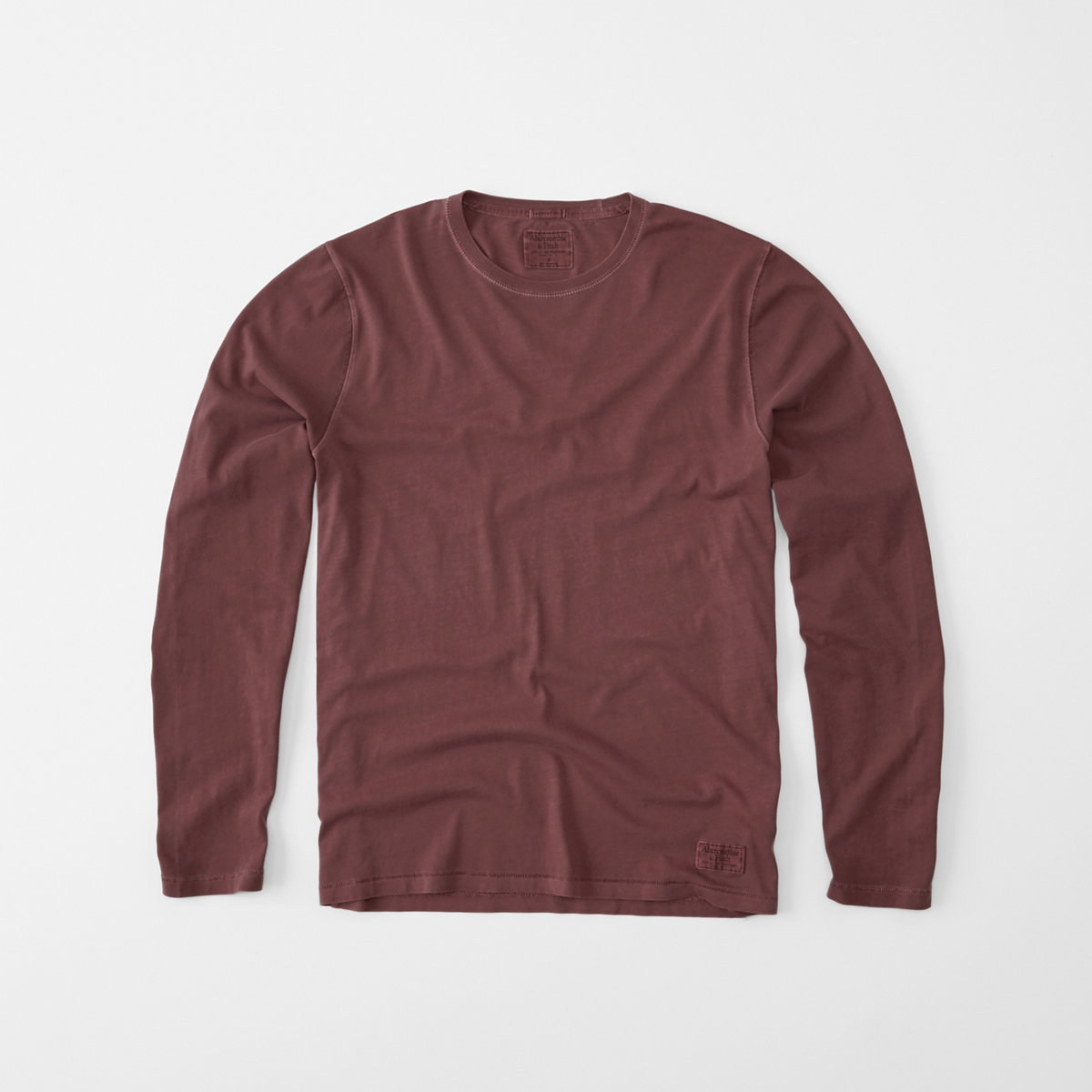 Long-Sleeve Garment Dye Tee