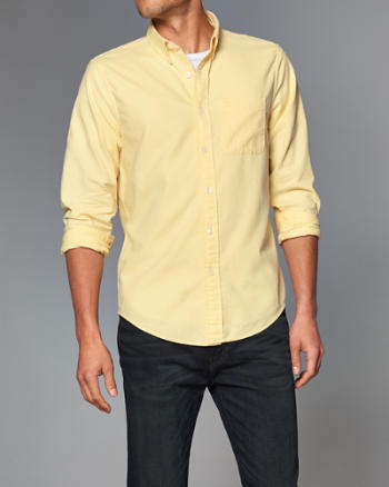 ANF Iconic Oxford Shirt