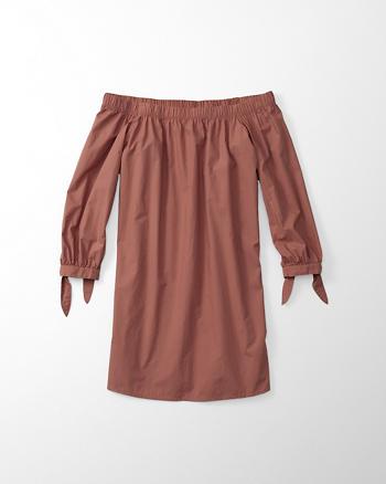 ANF Off-The-Shoulder Dress