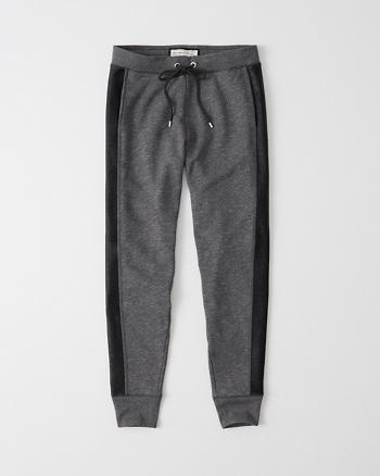 ANF Coated Panel Joggers
