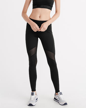 ANF Mesh Piece Leggings