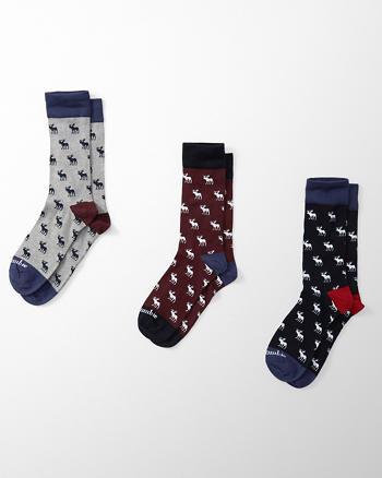 ANF A&F Crew Socks