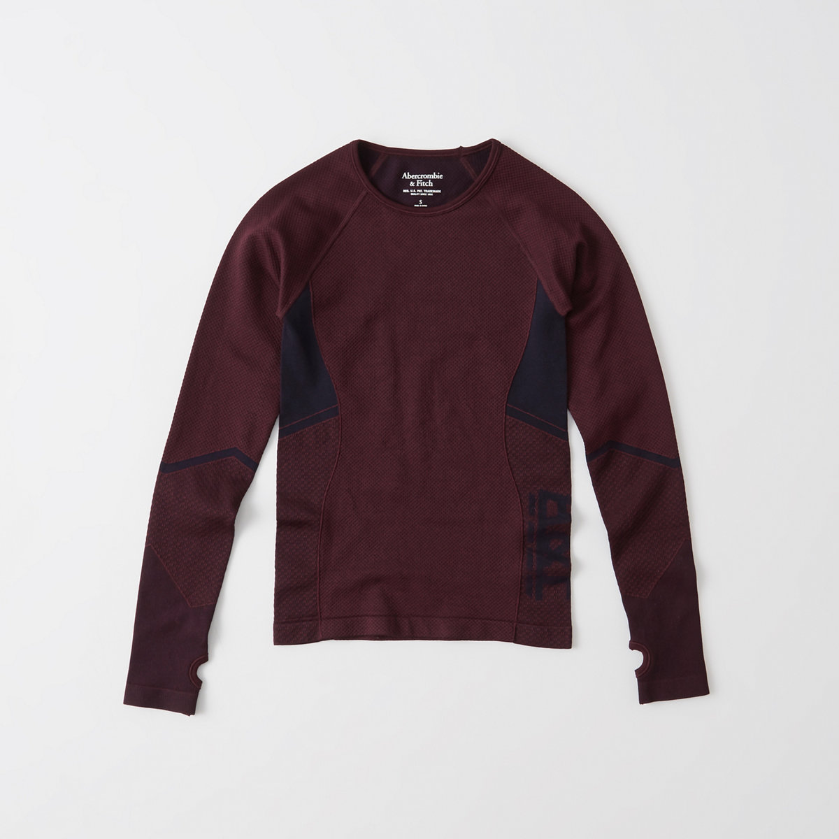 Active Textured Long-Sleeve Tee