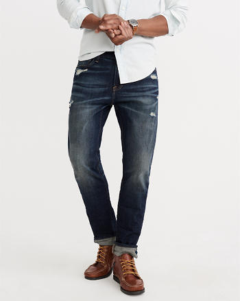 ANF Slim Straight Everyday Jeans