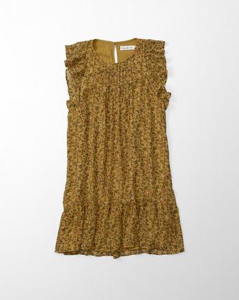 ANF Ruffle Swing Dress