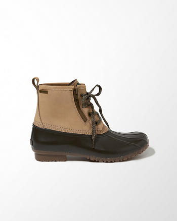 ANF G.H. Bass & Co. Danielle Duck Boots