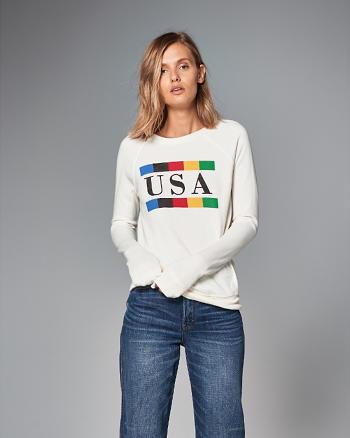 ANF USA Crew Sweatshirt