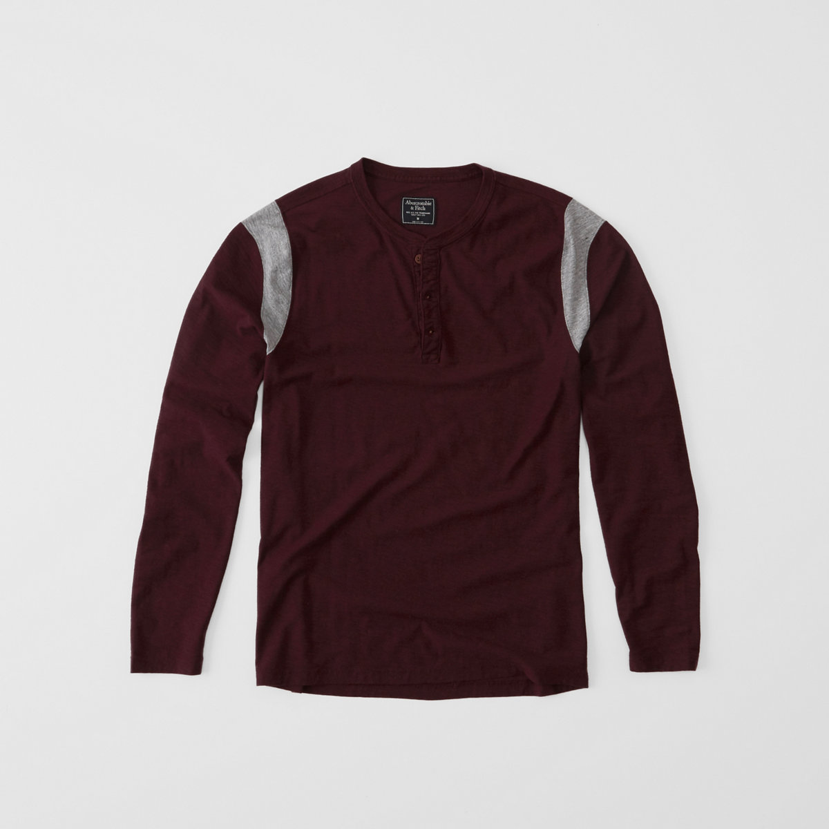 Long-Sleeve Athletic Henley