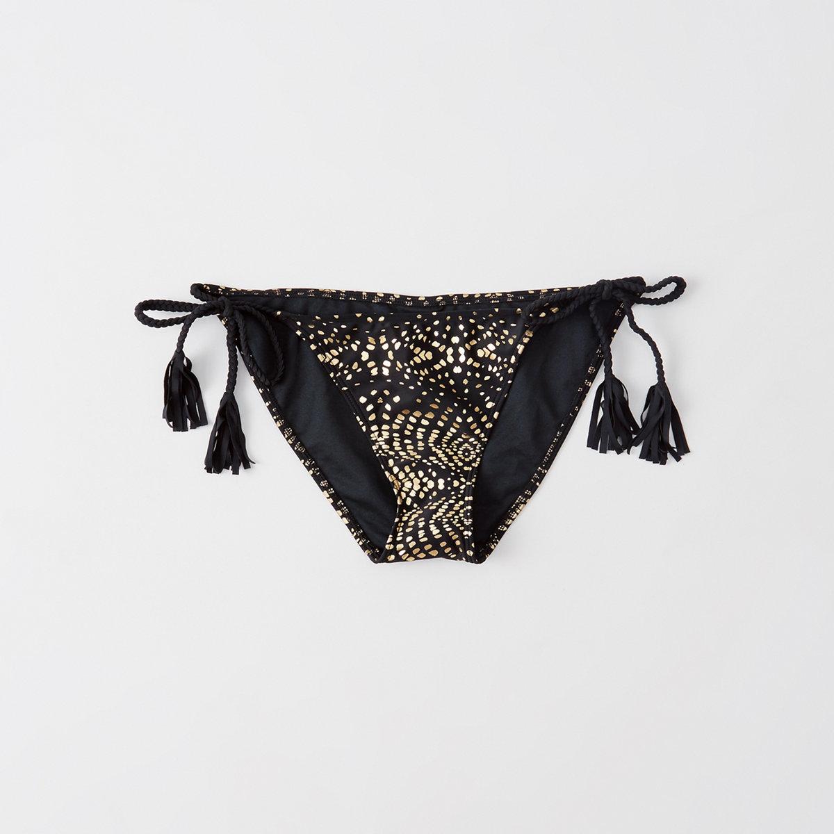 Twisted Strap Bikini Bottom