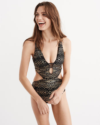 ANF Strappy Back One Piece