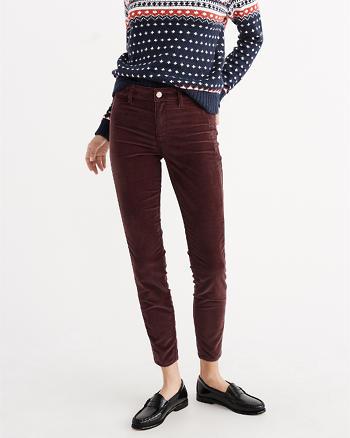ANF Velvet Skimmer Super Skinny Jeans
