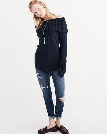 ANF Off The Shoulder Sweater