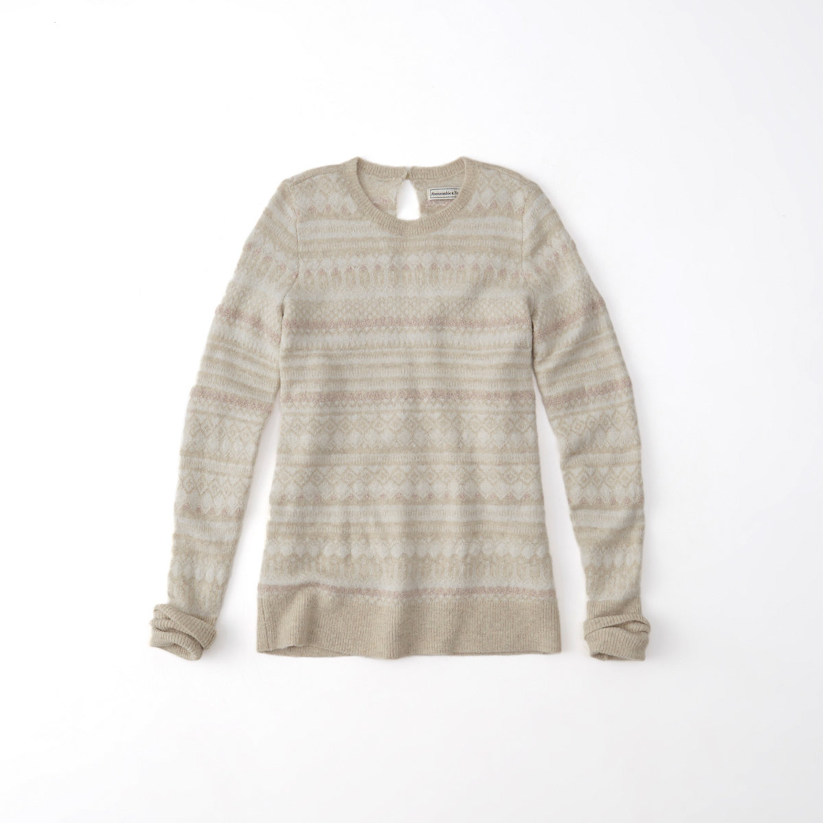 Shine Fairisle Pullover Sweater