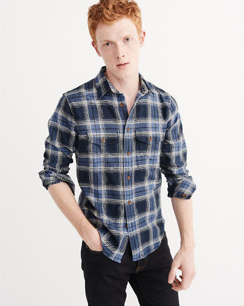 ANF Winter Flannel Shirt