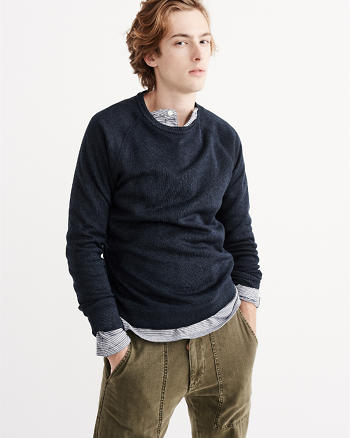 ANF Fleece Crew Sweater