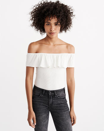 ANF Off-The-Shoulder Bodysuit