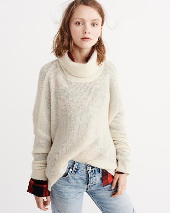 ANF Mohair Blend Turtleneck Sweater