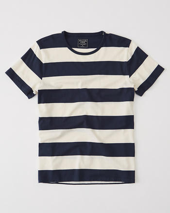 ANF Bold Striped Tee