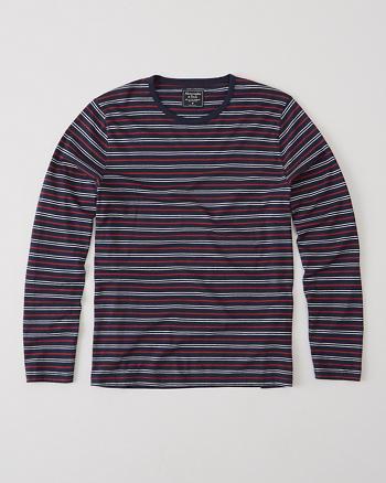 ANF Striped Long-Sleeve Tee