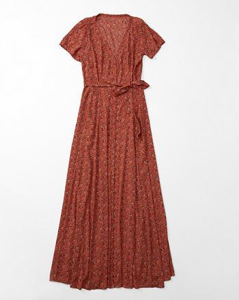 ANF Short Sleeve Maxi Dress
