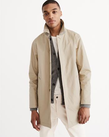 ANF Bonded Mac Jacket