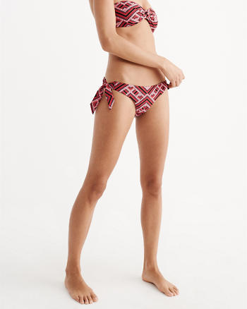 ANF Ruched Side Tie Bikini Bottom