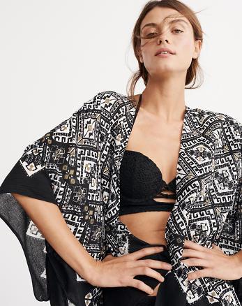 ANF Printed Kimono