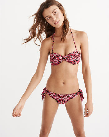 ANF Knotted Bandeau Top