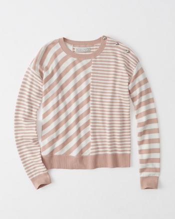ANF Mix Stripe Sweater