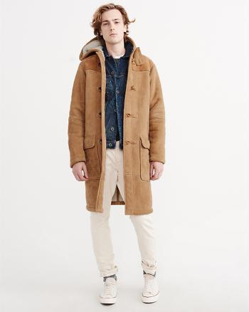 ANF Shearling Duffle Coat