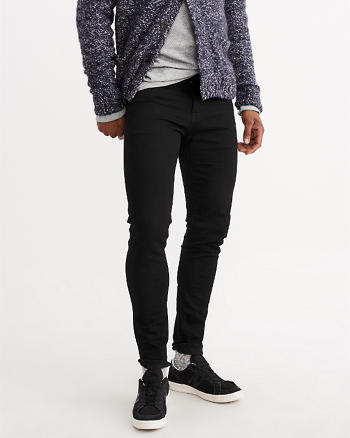 ANF Black Super Skinny Jeans