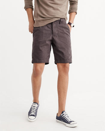 ANF Plainfront Shorts