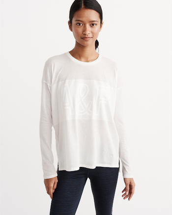 ANF Active Long-Sleeve Tee