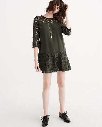 ANF Lace Statement Dress