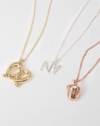 ANF New York Charm Necklace Set