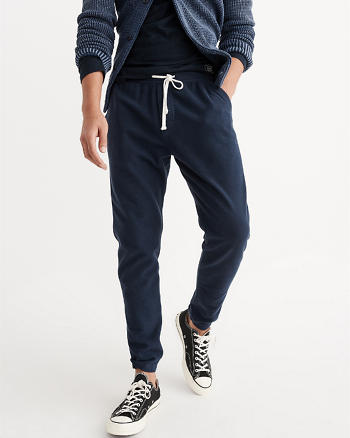 ANF Fleece Tapered Sweatpants