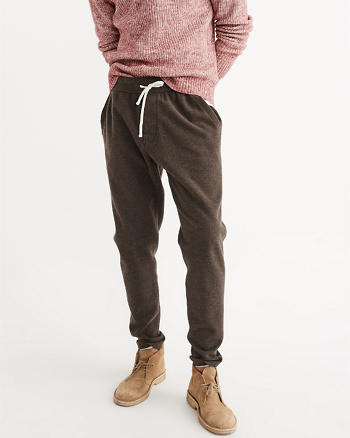 ANF Fleece Tapered Sweatpants