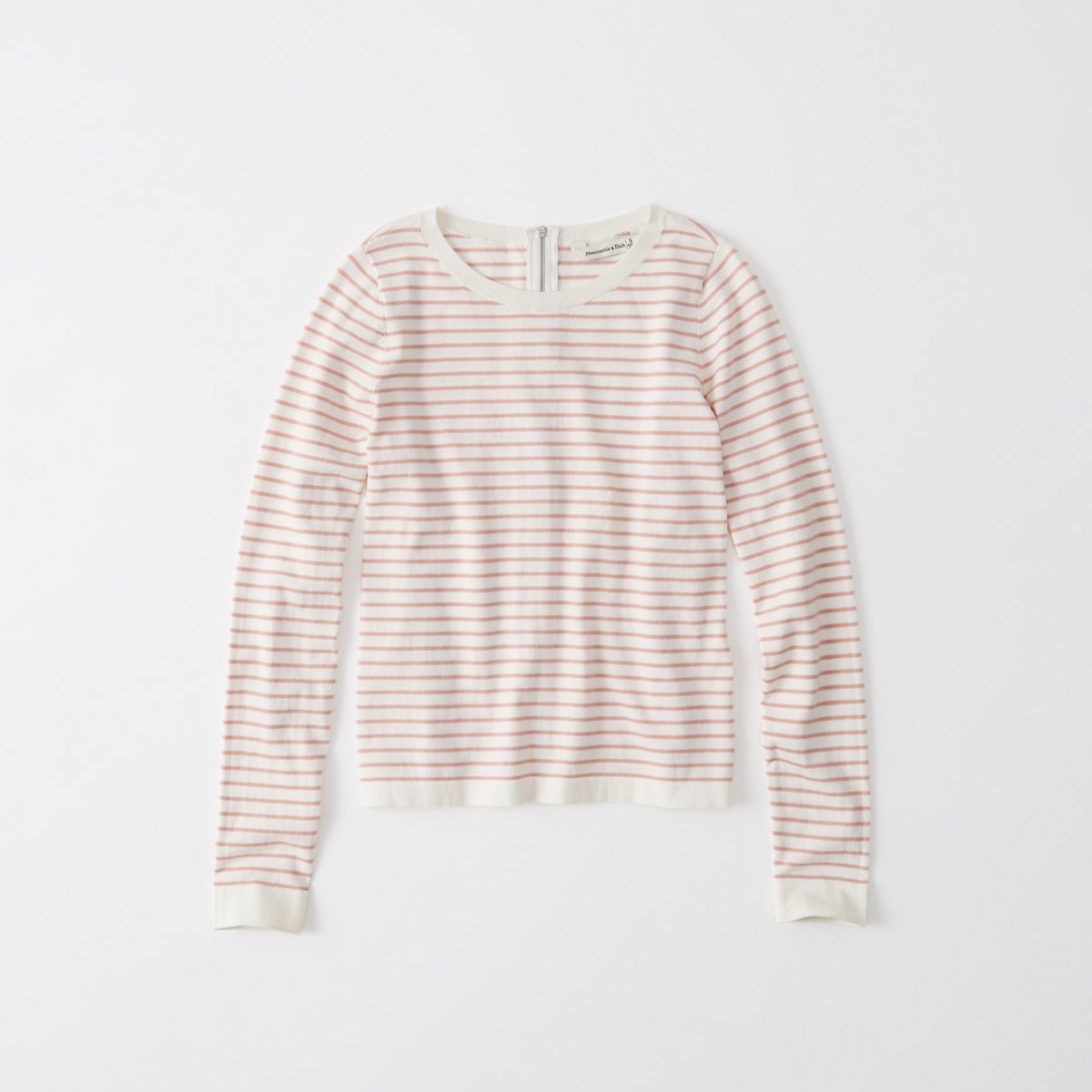 Zip Striped Sweater