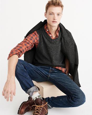 ANF Wool V-Neck Vest