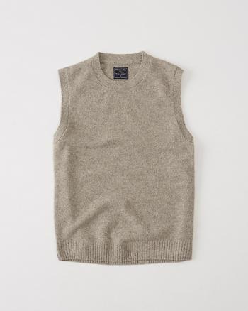 ANF Wool Crew Vest