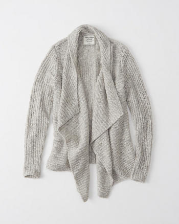 ANF Stitch Mix Blanket Cardigan