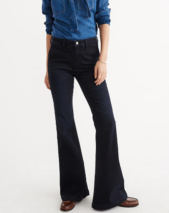 ANF High-Rise Flare Jeans